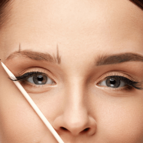 Brow waxing